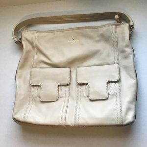 Kate Spade Cream Leather Purse